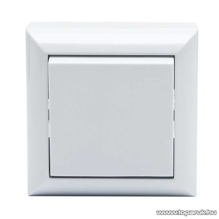 Falon kívüli beltéri váltókapcsoló, fehér, 230V, 50Hz, 10A (05915)