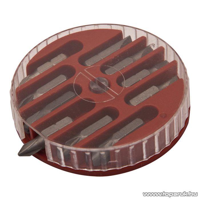 Handy TIRE TRAK gumírozott nyelű csavarhúzó és bit készlet, 16 db / csomag (10715)
