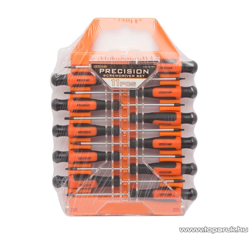 Handy 11 db-os precíziós csavarhúzó készlet (10805)
