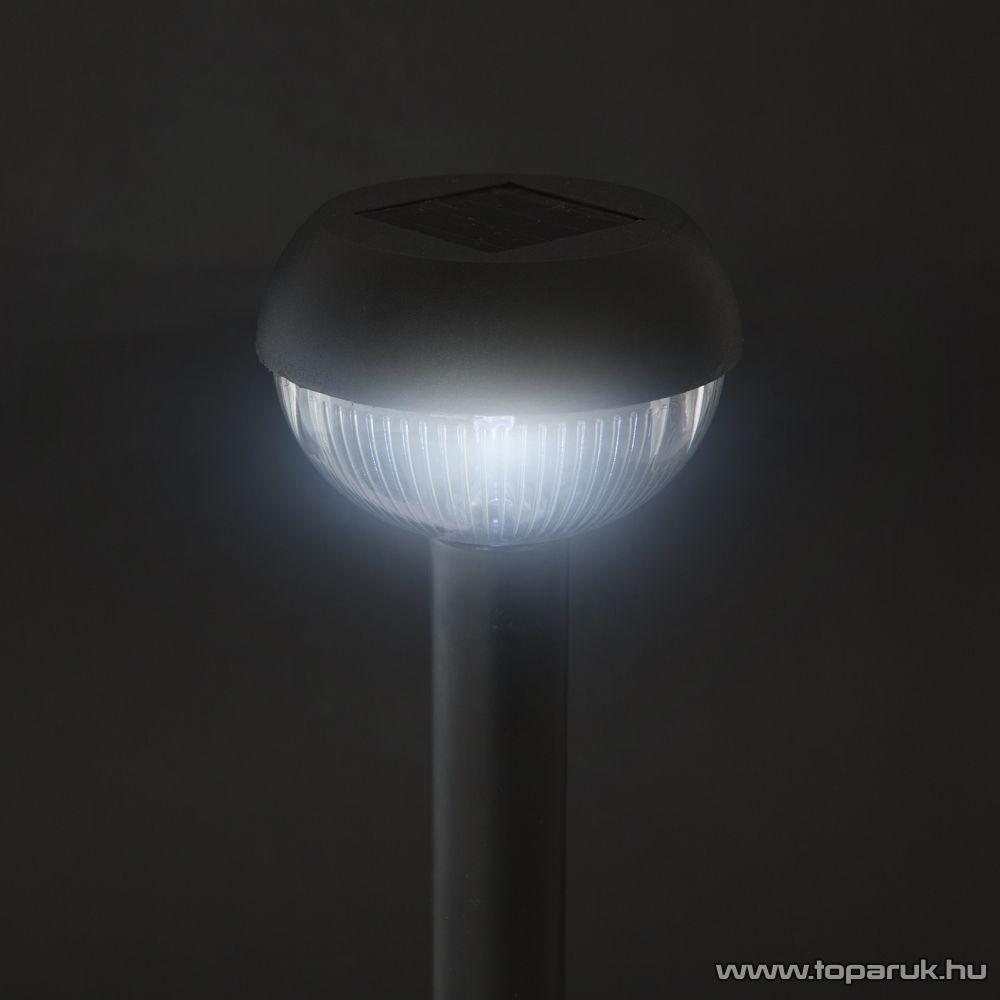 delight LED-es szolárlámpa, fekete, 26 cm (11386) - készlethiány