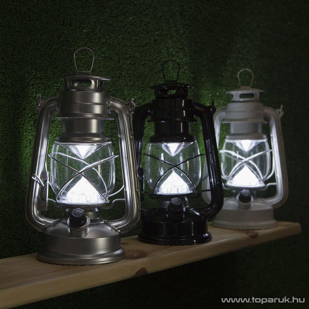 delight Led-es petróleumlámpa 12 LED-del, 24,5 x 11,5 cm (11443)