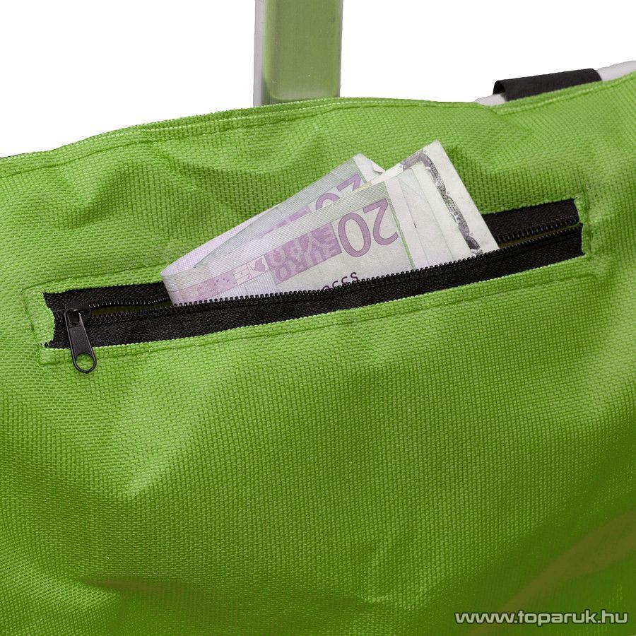 Összehajtható bevásárlókosár, zöld (11540GR)