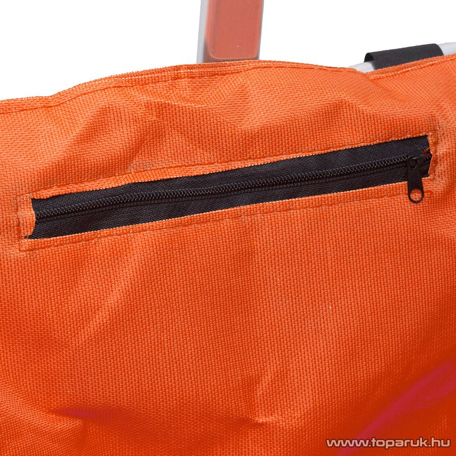 Összehajtható bevásárlókosár, narancs (11540OR)