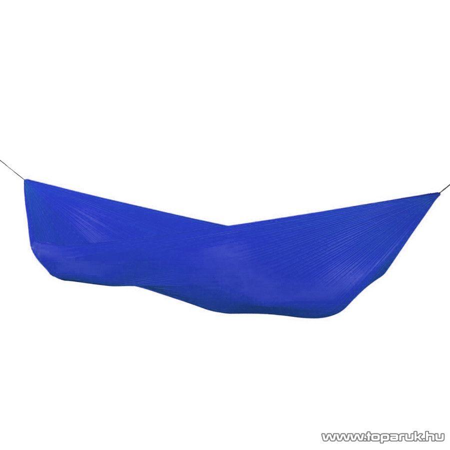 Függőágy, 200 x 140 cm, poliészter, kék (11551B)