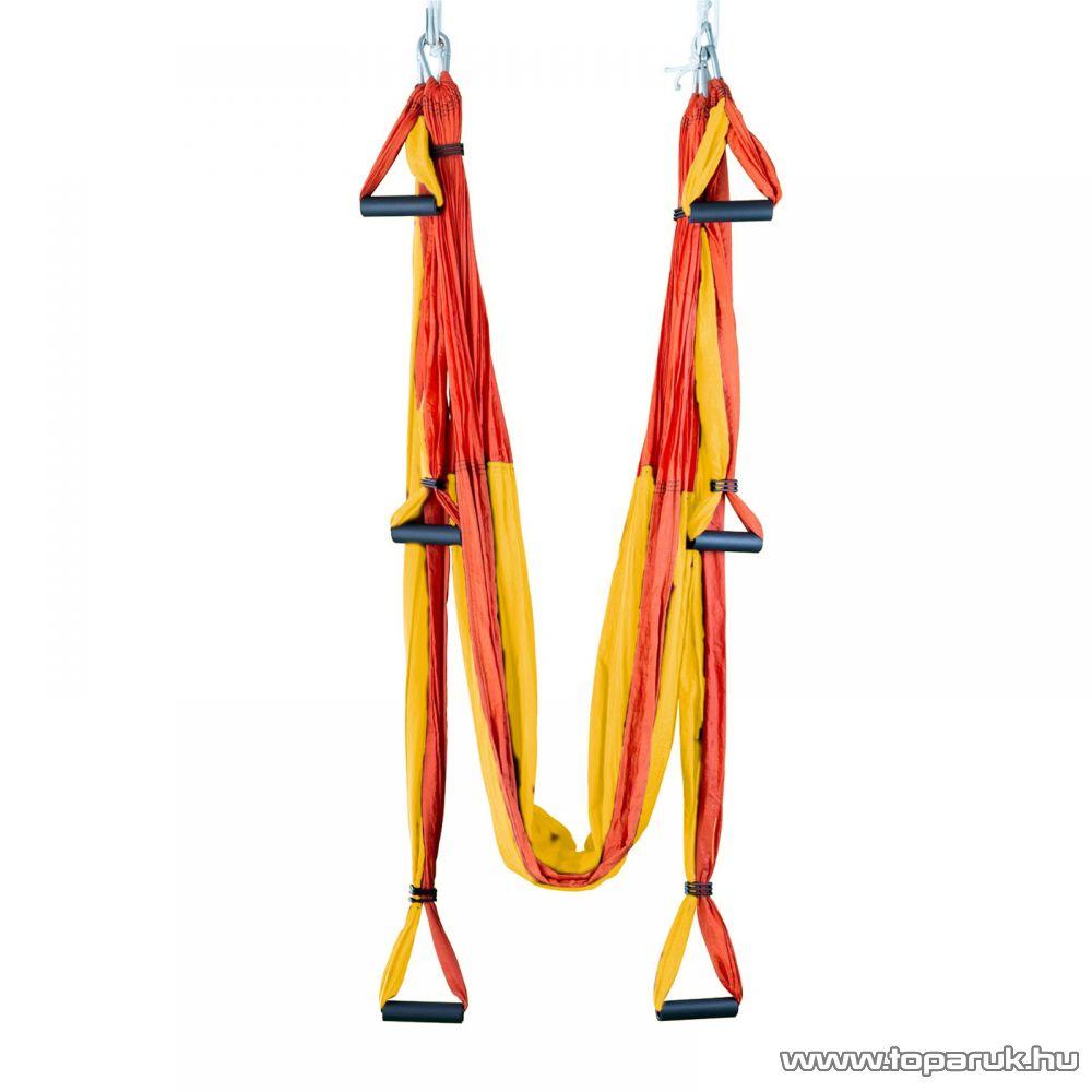 Jóga hinta, 250 x 150 cm (piros-sárga színű) - készlethiány