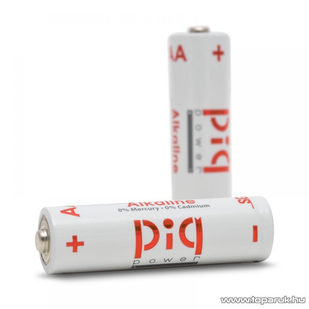 piq power LR6 alkaline tartós AA ceruza elem, 10 db / csomag (18411B)