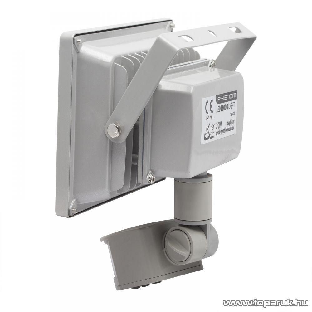 Phenom COB LED-es reflektor mozgásérzékelővel, 20W / 240V / IP65, 4200K (18662D)