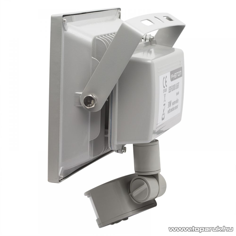Phenom COB LED-es reflektor mozgásérzékelővel, 30W / 240V / IP65, 3000K (18664W)