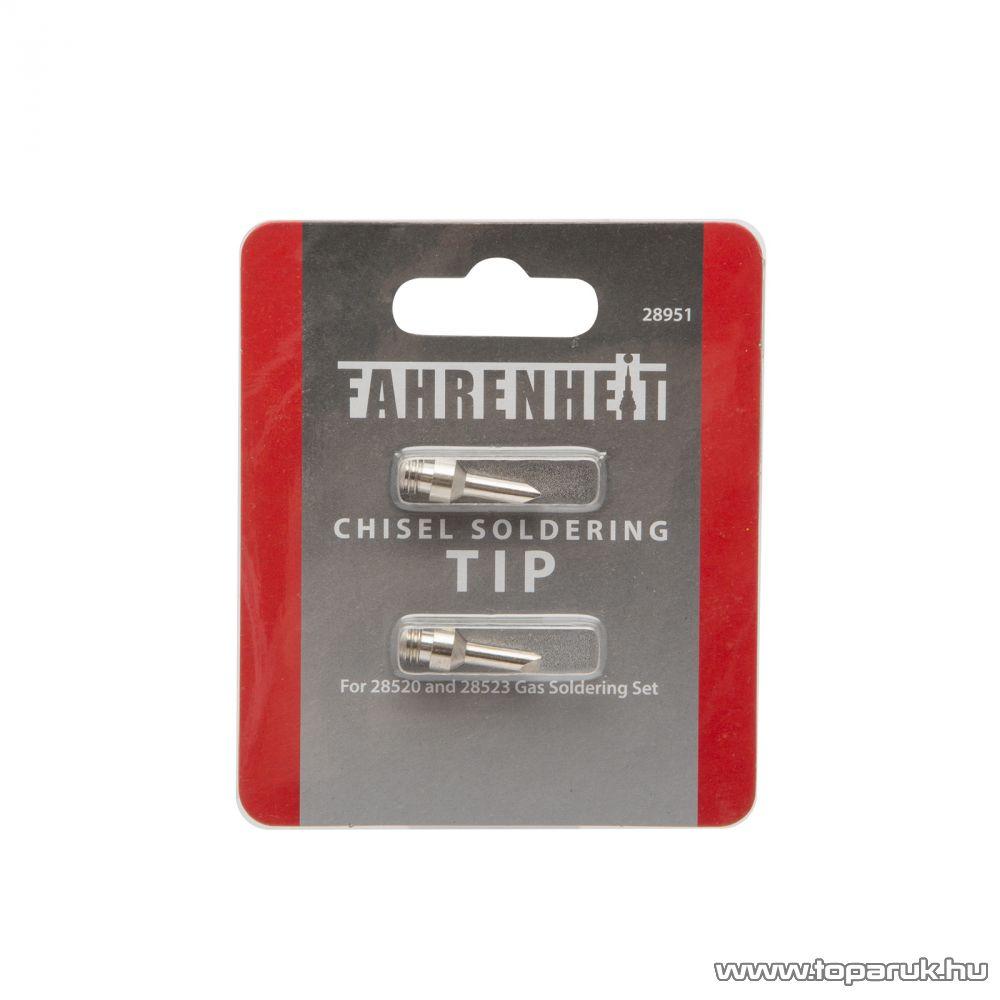 Fahrenheit Véső pákahegy a 28520 és 28523 típusú forrasztókhoz, 2 db / csomag (28951)