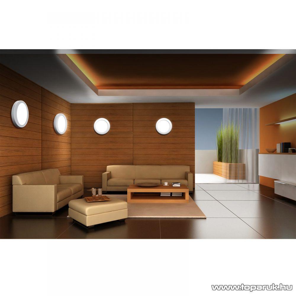 Phenom 42003W LED panel lámpa 12W, kör, melegfehér fényű világítással