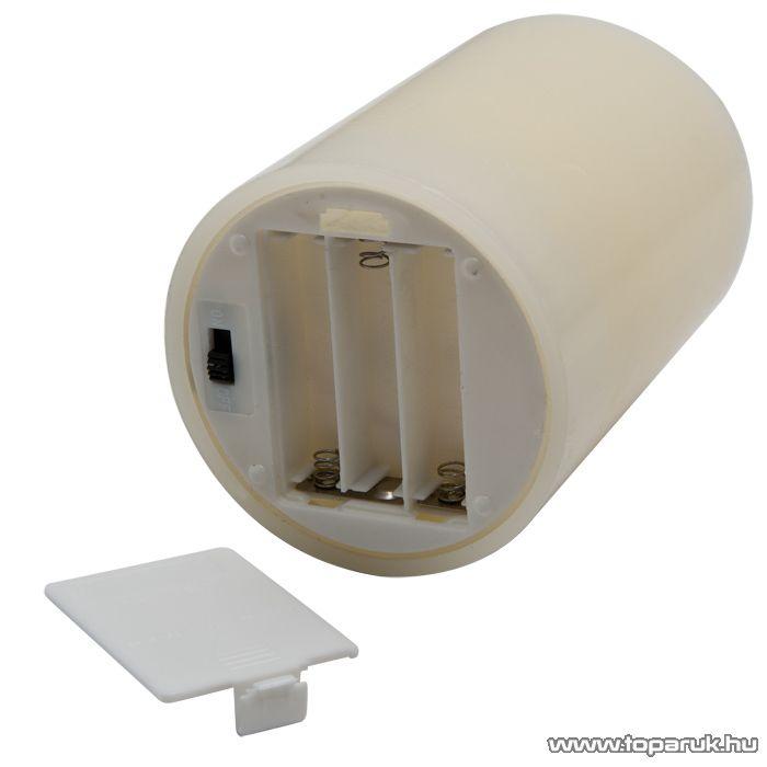LED-es elfújható viaszgyertya, 150 x 73 mm (56069B)