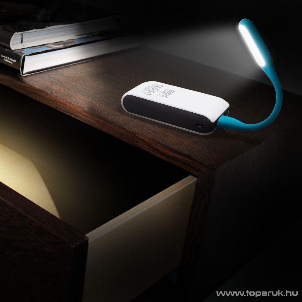 Phenom USB-s SMD LED-es flexibilis olvasólámpa (hajlékony USB lámpa), 17 cm-es