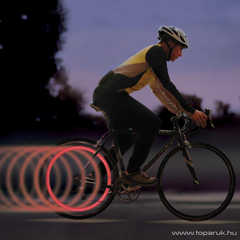 Delight Led-es Kerékpár küllővilágítás (57068), piros színű