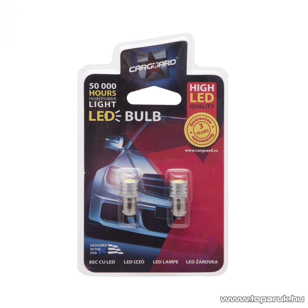Carguard 1 LED-es helyzetjelző, BA9s foglalat, 1W, DC 12V, 2 db / csomag (50949)