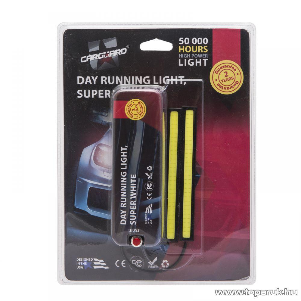 Carguard LED-es autó menetfény, DLA004, 9W, 1100 lumen, 1 pár (50992)