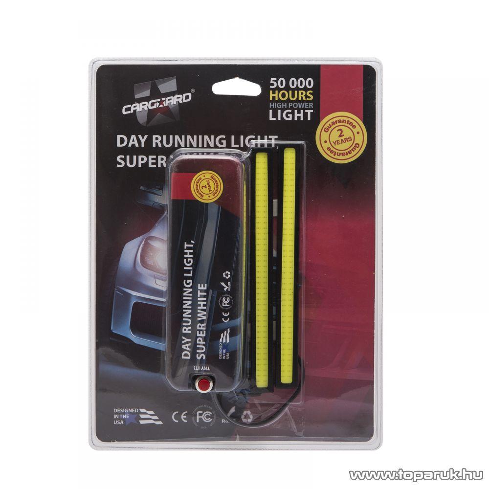 Carguard LED-es autó menetfény, DLA005, 10W, 1200 lumen, 1 pár (50993)