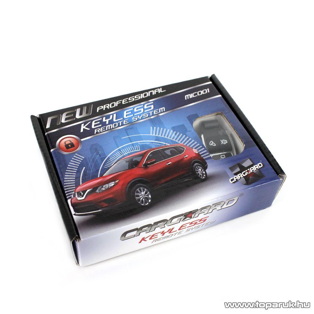 Carguard Távirányítós központizár vezérlő szett távirányítókkal (55073-12)