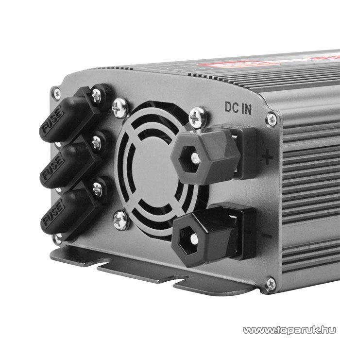 Delight 51024 Feszültség átalakító, inverter, 600 W - megszűnt termék: 2016. május