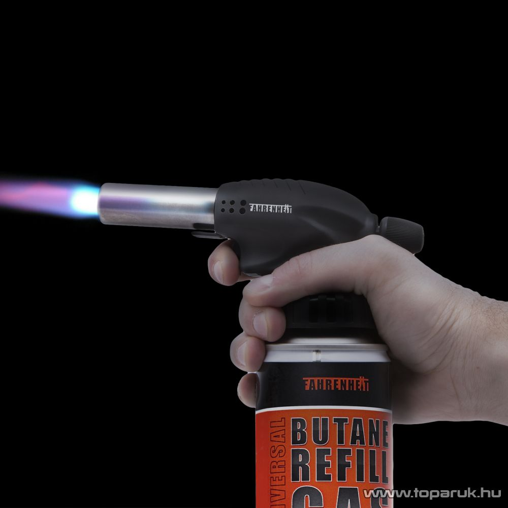 Fahrenheit Gázüzemű forrasztófej piezos gyújtással (28089)