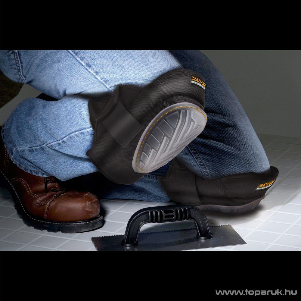 Handy Univerzális szilikonos térdvédő tépőzárral, 1 pár (10256)