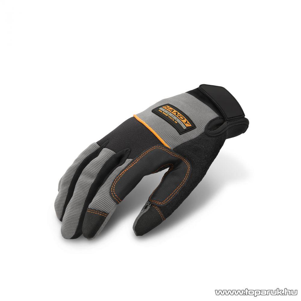 Handy Munkavédelmi kesztyű tépőzárral, XXL-es méret, 1 pár (10257XXL)