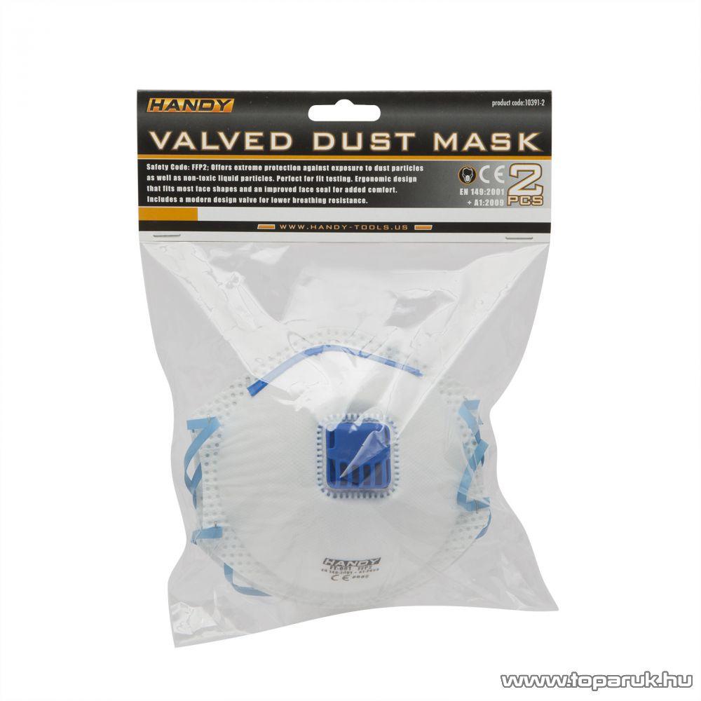 Handy Szelepes porvédő maszk, 2 db/csomag (10391-2)