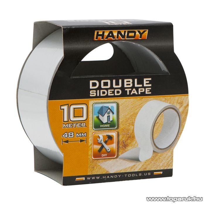 Handy Kétoldalas ragasztószalag, 10 m / tekercs (11100)