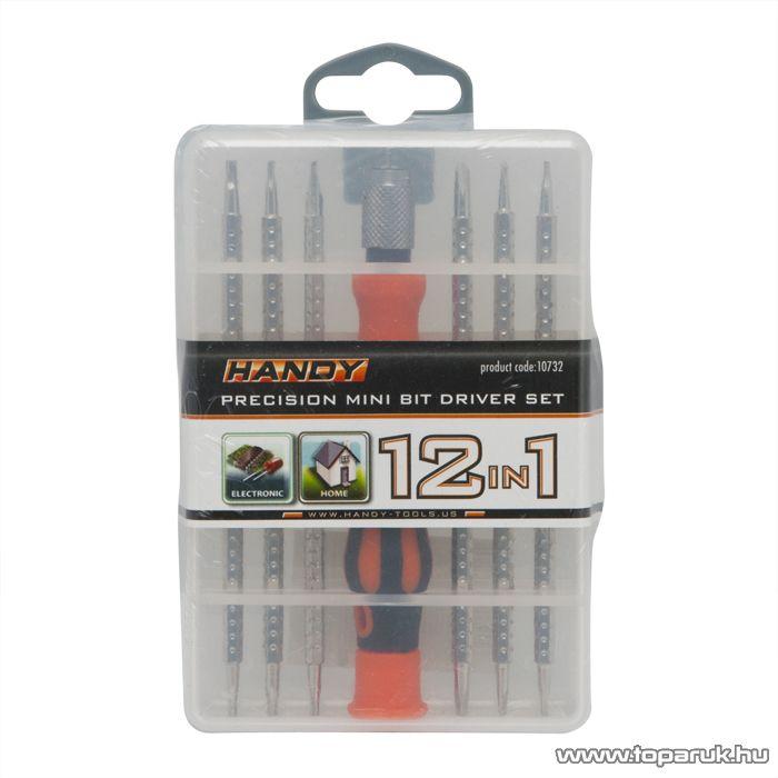 Handy 7 db-os precíziós csavarhúzó készlet (10732)