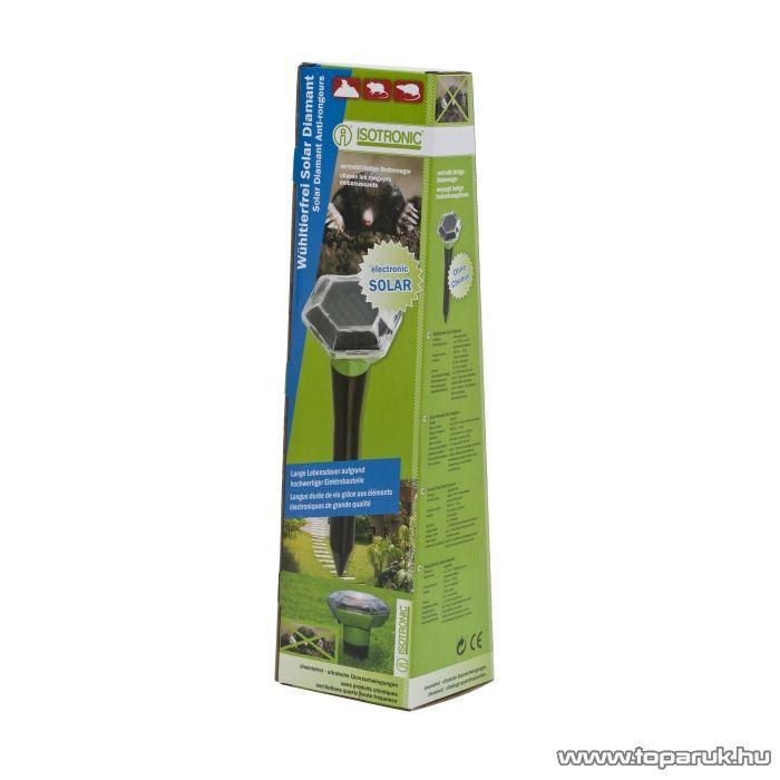 ISOTRONIC Kártevő riasztó napelemes szolár lámpa (55635)