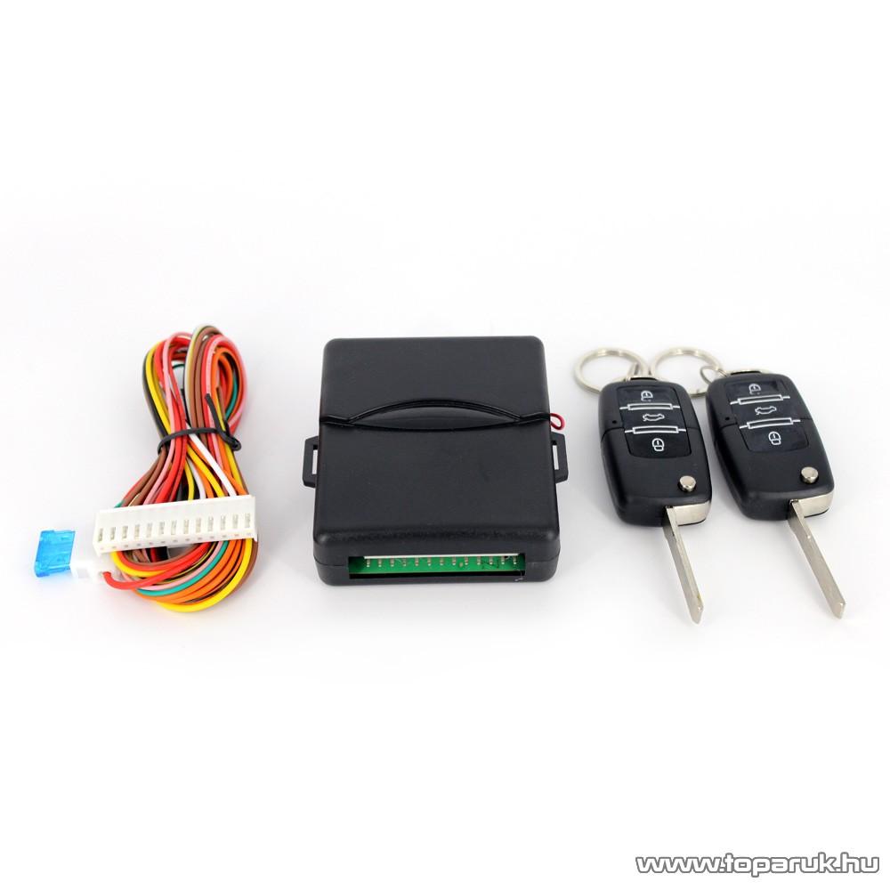 delight Távirányítós bicskakulcsos központizár vezérlő szett (55075B)