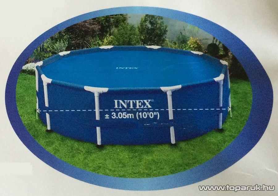 Intex Medence szolár védőtakaró, takaró fólia, 290 cm átmérőjű - készlethiány