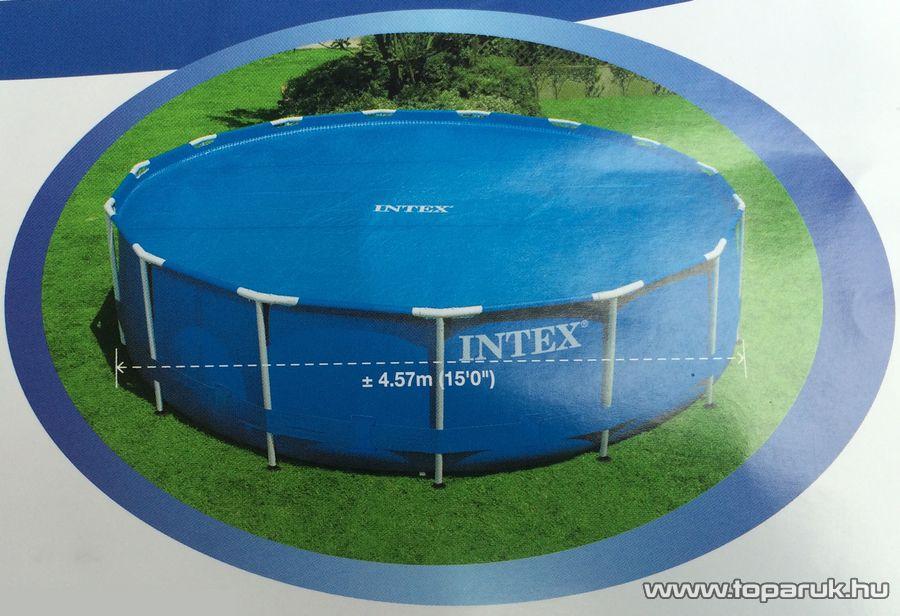 Intex Medence szolár védőtakaró, takaró fólia, 448 cm átmérőjű - készlethiány