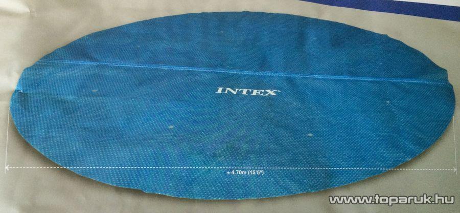 Intex Medence szolár védőtakaró, takaró fólia, 470 cm átmérőjű - készlethiány