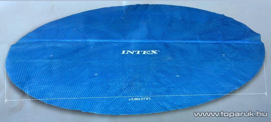 Intex Medence szolár védőtakaró, takaró fólia, 538 cm átmérőjű - készlethiány