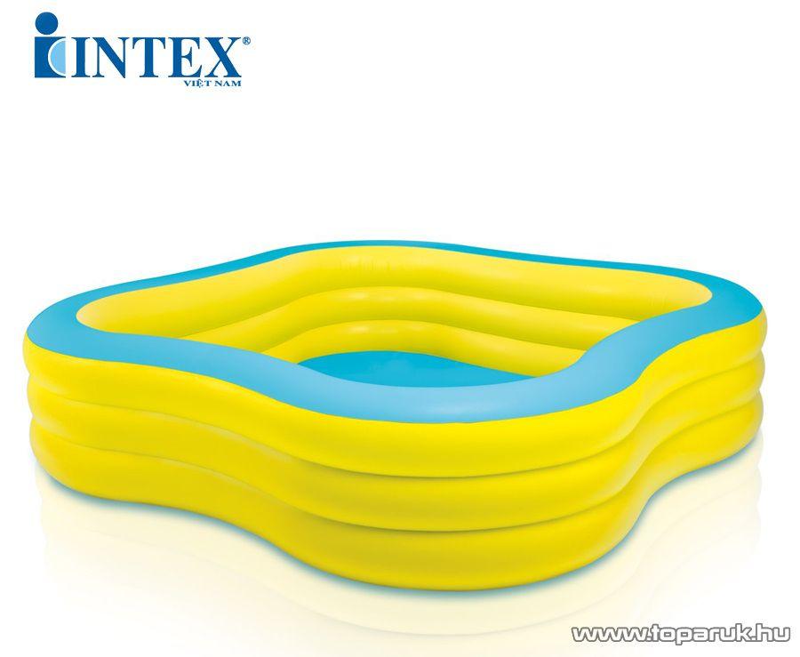 Intex Családi hullámos medence, kerti medence, 229 x 229 x 56 cm (57495)