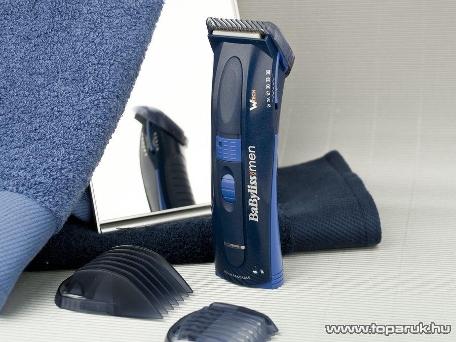 BaByliss E709E W-Tech Akkumulátoros haj- és szakállnyíró - Megszűnt termék: 2015. Október