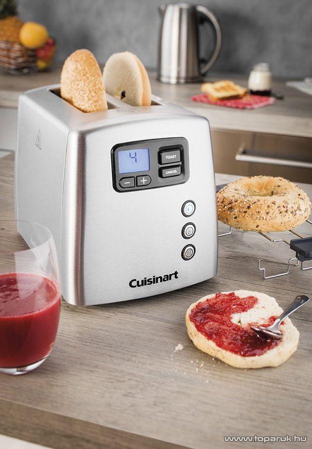Cuisinart CPT420E Többfunkciós automata kenyérpirító, 2 szeletes