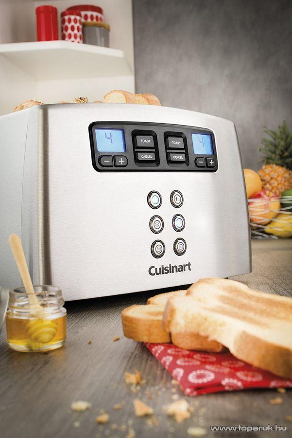Cuisinart CPT440E Többfunkciós automata kenyérpirító, 4 szeletes