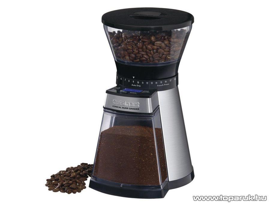 Cuisinart DBM18E Inox kávédaráló