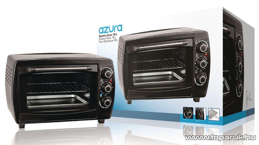 Azura AZ-EO18L 18 literes minigrill és pizza sütő, mini sütő