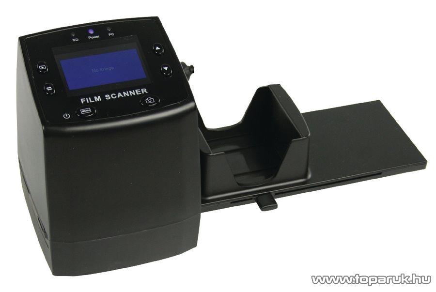CamLink CL-FS20 Digitális dia és negatív filmszkenner, digitalizáló LCD kijelzővel