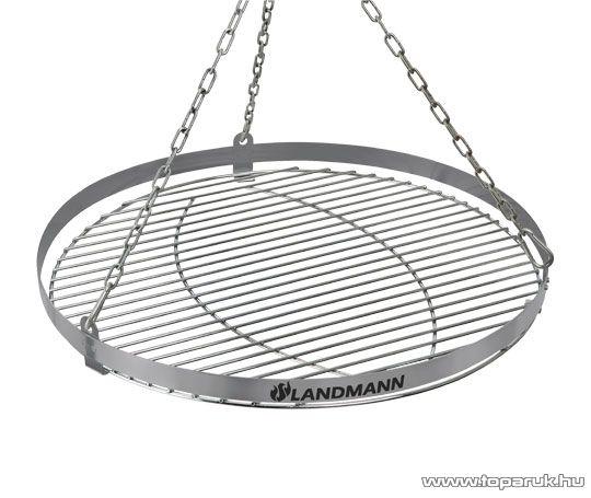 Landmann 11064 Faszenes geos lengőgrill, zománcozott tűztérrel (10 személyes) - készlethiány