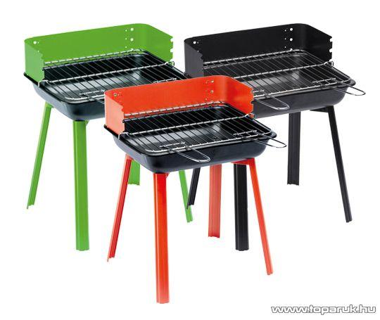 Landmann 11525 PortaGo faszenes party kompakt grill, zöld (4 személyes)