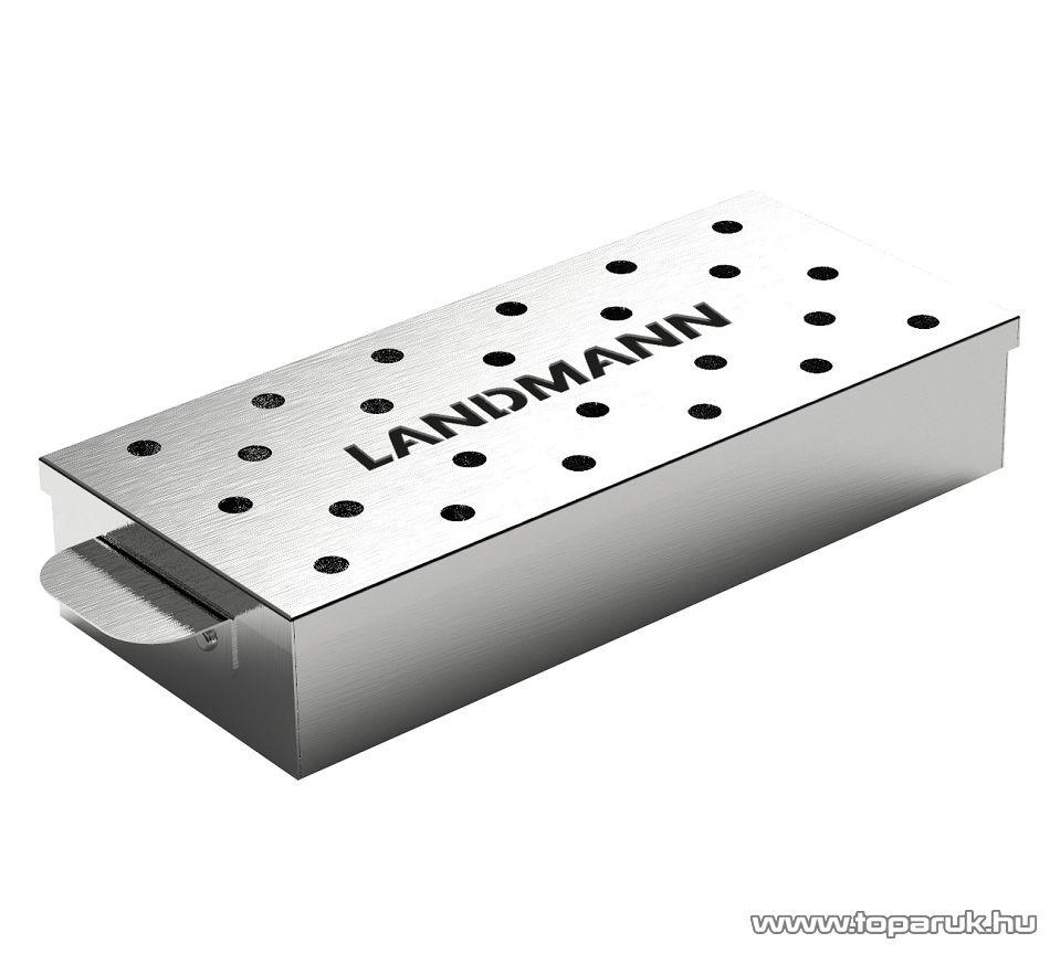 Landmann 13958 INOX füstölő doboz, 700 ml
