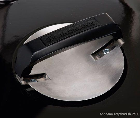 Landmann 31346 Black Pearl Select faszenes fekete gyöngy party gömbgrill (10 személyes)