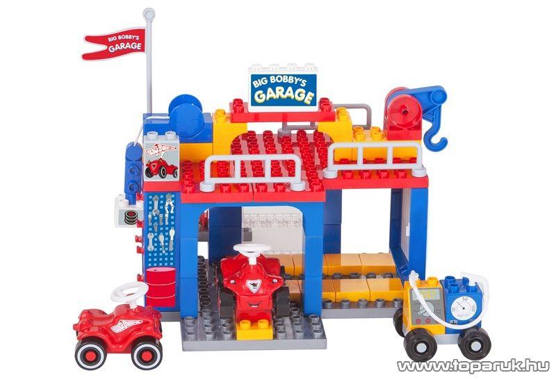 BIG Bobby garázsa építőkocka készlet (800057054) - készlethiány