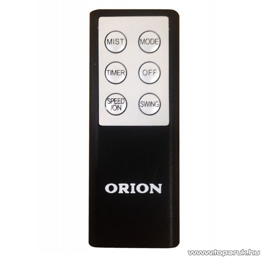 Orion OF1-SM616R Vízporlasztós ventilátor, párásító / vízpermet ventilátor, fekete (40 cm átmérő)