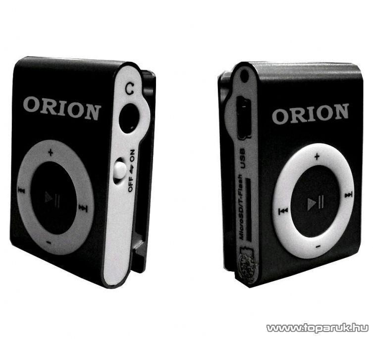 Orion OMP-09 fémházas, memóriakártyával bővíthető MP3 lejátszó