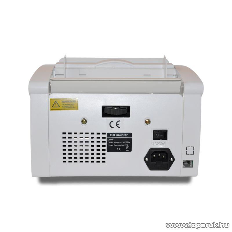 MC24 2210 Bankjegyszámláló, pénzszámláló (UV, IR), fehér