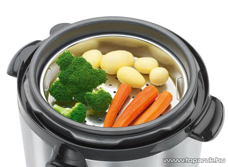 ProfiCook PC-DDK1048 Teflon bevonatú multifunkciós főzőkukta, rizsfőző, pároló, sütő és melegentartó edény - Megszűnt termék: 2016. Február